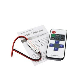 $enCountryForm.capitalKeyWord Canada - Mini Wireless RF Single Color LED Dimmer DC 5V 12V 24v 11Key Remote Controller For LED Strip 5050 3528 2835 5630 Control