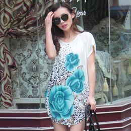 $enCountryForm.capitalKeyWord Canada - Trendy Women Elegant O Neck Lace Beach Dress Summer Maxi Lace Women Dresses Casual Plus Size Loose Loose Silk Short Sleeves Dress