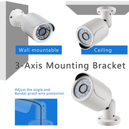 Detection Systems Security Canada - 4CH NVRMotion Detection H.264 Onvif 720P 1.0MP IP Network Home Security Camera CCTV System Email Alert P2P Surveillance Kit