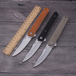 Boker knife survival camping online shopping - New Boker Kwaiken Flipper Tactical Folding Knife IKBS bearing opening system Outdoors Hunting EDC Tools Camping Survival Pocket Knives gift