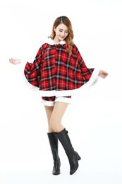 Robes Sexy Pour Femmes Pas Cher-Costumes Cosplay Sexy Women Dress Fête de Noël Santa Claus Holiday Costume Robe Fille Fancy Long Sleeve V-Neck Hoodies Robe