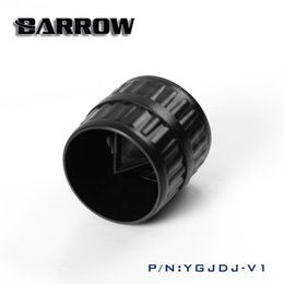 pipe cases 2019 - Wholesale- Barrow Mouth of acrylic PETG hard tube hard pipe smoother computer water cooling system use YGJDJ-V1 discount