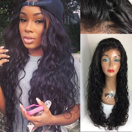 hairstyles for long hair bangs 2019 - Top quality 100% malaysian virgin hair lace front wigs & glueless full lace human hair wigs with bangs for black women c