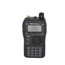 Dual Band Uhf Vhf Portable Canada - SMP Clarigo 818 Walkie Talkie VHF UHF Dual Band Portable CB Radio LED Flash FM Radio Receiver Intercom Alarm Ham Radio