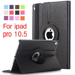 $enCountryForm.capitalKeyWord Canada - For ipad pro 10.5 9.7 2017 360 Degree Rotating PU Leather Smart Cover Case For iPad air mini 2 4 5