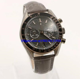 Battery ma online shopping - Top High Quality hot men s luxury brand quartz chronometer speed series table bezel gray leather strap casual fashion ma