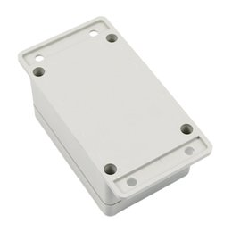 $enCountryForm.capitalKeyWord NZ - Wholesale- CAA-White Waterproof Plastic Electronic Project Box Enclosure Case 100*68*50mm