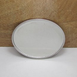 $enCountryForm.capitalKeyWord NZ - BuckleHome oval blank DIY belt buckle with smaller size with silver finish FP-02861 free shipping