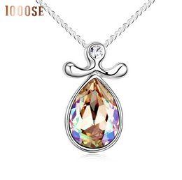 Genuine Swarovski Jewelry UK - 2017 new A genuine SWAROVSKI Elements Crystal Necklace with pendant jewelry -- twelve constellation Libra sale