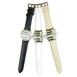 Watches Ceramic Wrist Bands NZ - Gofuly Top Brand Music Character Leather Band Analog Quartz Vogue Wrist Watches
