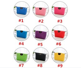 Multi Color Ladies Handbags NZ - Candy color Travel Makeup Bags Women's Lady Cosmetic Bag Pouch Clutch Handbag Hanging Jewelry Casual Purse