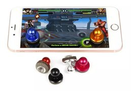 Discount small screen cell phones - Black Small Size Stick Game Joystick Joypad For Touch Screen Cell phone Best Selling Mini Joystick with free shipping