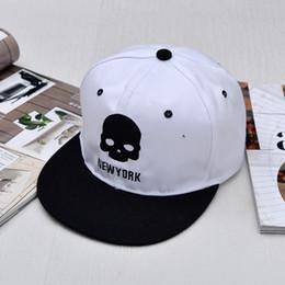 Skull Ball Caps Canada - New Fashion Hip Hop Hip Hats Characters Skulls Skull Baseball Cap Entertainment Skateboard Cap Free shipping