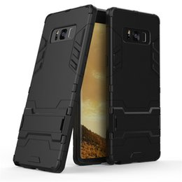 $enCountryForm.capitalKeyWord UK - For galaxy Note 8 Cover 6.3inch Hybrid TPU+PC Shockproof anti-knock protector cover Iron Man Case For Samsung Galaxy Note8 N950F Coque