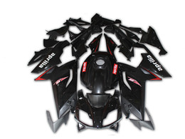 China 4 Free Gifts New Fairings Injection ABS Full bike fairing kits for aprilia RS125 2006-2011 RS 125 06 07 08 09 10 11 RS4 bodywork set black suppliers