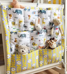 For Nursery Bags NZ - Wholesale- New brand baby bed crib rooms nursery hanging storage bags for home decorations organizer pocket closet bag organizadora