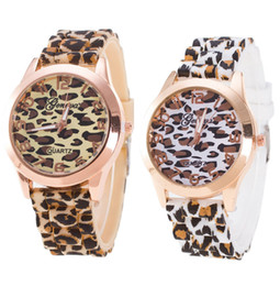 geneva ceramic analog watch 2020 - Silicone Watch Women Brand Luxury Geneva Quartz-watch Analog Wrist Watch