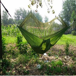 $enCountryForm.capitalKeyWord UK - Portable Double Hammock with Mosquito Net for Outdoor Camping Traveling