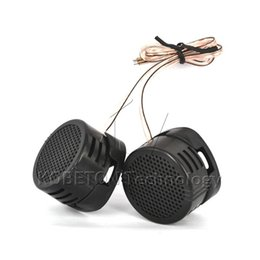Chinese  Wholesale- 1 Pair Universal High Pitch Loudspeaker HF 2 X 500W Super Power Dome Loud Speaker Tweeter Tone Loudspeaker manufacturers