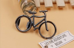 Discount bicycle opener - 2017 hot sell Creative Cute Fashionable Bike Bicycle Beer Bottle Opener keychain key rings for biker
