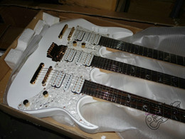 $enCountryForm.capitalKeyWord Australia - Free Shipping China Custom New arrival white color 6+6+12 Strings 3 neck Electric Guitar(accept custom all kinds of color)
