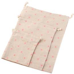 "$enCountryForm.capitalKeyWord UK - Linen Packaging Gift Bag 18x23cm ( 7"" x 9"" ) Sock Bra Underwear Drawstring Travel Organizer Bags Muslin Cotton Drawstring Pouch"