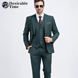 Dark Green Suit Pants For Men Online | Dark Green Suit Pants For ...
