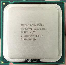 $enCountryForm.capitalKeyWord NZ - Original Intel Pentium E5200 2.5GHz 2M 800 Dual Core desktop processors CPU 5200 Socket LGA 775 pin (working 100% Free Shipping)
