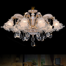 Discount modern italian crystal chandeliers 2018 modern italian gold crystal chandelier lighting k9 crystal chandelier italian modern chandeliers living room birdcage hanging lamp led dining room lights modern italian mozeypictures Images