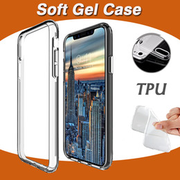 $enCountryForm.capitalKeyWord Canada - Ultra Slim Thin Soft TPU Silicone Gel Rubber Clear Transparent Cover Case For iPhone XS Max XR X 8 7 6 6S Plus Full Protection Anti-scratch
