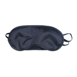 Wholesale Soft Eye Mask Shade Nap Cover Blindfold Sleeping Travel Rest Christmas Gift New vision care sleep masks