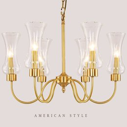 Traditional brass chandeliers online traditional brass american style country brass chandelier european pendant lights simple living room bedroom dining study nordic garden lighting lamps aloadofball Image collections