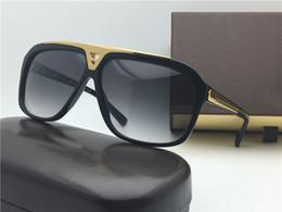 Metal Fines Australia - 2017 new 0105 luxury classic retro style fine plate metal design the best quality men's sunglasses UV400