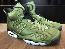 online shopping New with box flight Jacket Green olive men Basketball Sports Sneakers best quality WITH BOX size