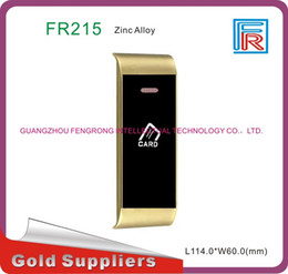 Barato Fechaduras De Pulseira-FR215 Easy Use Gym / Suana / Hotel Digital RFID Locker Lock com 13,56mhz RFID Card wristband 10pcs / lot