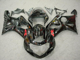 $enCountryForm.capitalKeyWord Australia - Plastic Fairings GSXR1000 2000 Body Kits GSXR 600 750 1000 02 03 Black Full Body Kits GSXR600 2003 2000 - 2003 K1 K2