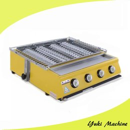 device sales Canada - WX-224 Smokeless Gas Barbecue Grill Commercial Yakitori Grill Chicken Meat Skewers Grill Machine For Sale Outdoor Household