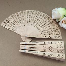 Çin koku ahşap fan düğün el fan ile kişiselleştirilmiş gelin damat adı ve düğün tarihi indirimde