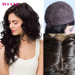 "$enCountryForm.capitalKeyWord NZ - Virgin Mongolian Human Hair Kosher Wig 4""X4"" Silk Base None Lace Wig Human Hair Bouncy Wave Customised Jewish Wig with Silk Top"