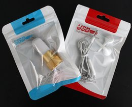 Retail packaging foR cell phone cases online shopping - Zipper Plastic Retail Package Bag Hang Hole Poly Packaging for USB Cable OPP Packing Bags for Cell Phone Case Wall Charger