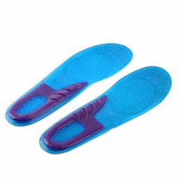 Chinese  1 Pair Small Size Orthotic Arch Support Massaging Silicone Anti-Slip Gel Soft Sport Shoe Insole Pad For Man Women Foot Care Tool manufacturers