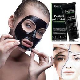 $enCountryForm.capitalKeyWord Australia - New Hot SHILLS Deep Cleansing Black Mask Pore Cleaner 50ml Purifying Peel-off Mask Blackhead Facial Mask Free DHL Top Quality