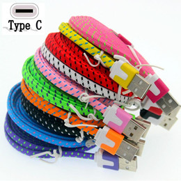 3m s6 edge online shopping - Stock m m m micro v8 pin Type C Type c fabric flat noodle usb data charging cable for samsung s4 s6 s7 edge s8 for htc lg g5 etc phone