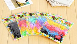 $enCountryForm.capitalKeyWord NZ - High quality Hair ornaments color head rope disposable bag rubber band hair band hair rope FQ044 mix order 100 1set=280 pieces