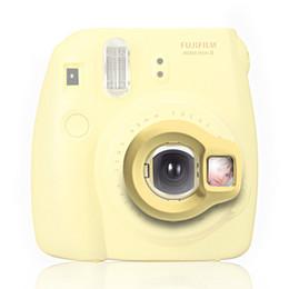 China Wholesale- Instax Mini 8 Instant Camera Close-up Lens Self Shoot Mirror by Takashi - Yellow(only the lens) cheap wholesale instax camera suppliers