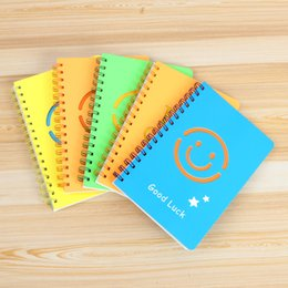 $enCountryForm.capitalKeyWord Canada - Emoji Notebook A5 Coil Office Supplies Multi Color Optional Cute Smile Face Student Notepad Diary Paper Book 3 8hx F R