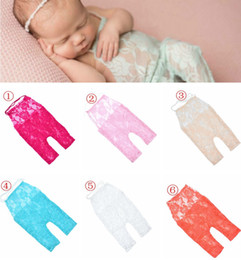 Vêtements Mignons Pour Les Tout-petits Pas Cher-Baby Girls Cute Petti Rompers Jumpsuits Nouveau-né Baby Full Lace Romper Infant Toddler Photo Clothing Bodysuits en dentelle doux 0-3M