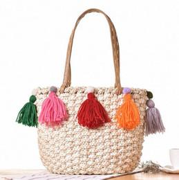 Discount Korean Straw Beach Bags | 2017 Korean Straw Beach Bags on ...