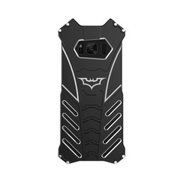 Chinese  R-JUST batman for samsung galaxy S8 metal aluminum Shockproof Cover case s8 plus Armor anti-knock phone cases manufacturers