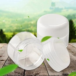 Wholesale oz plastic jars online shopping - Promotion Empty g PS Cream Jar Plastic Facial Cream Pot Cosmetic OZ Container ml Refillable Can F20171081